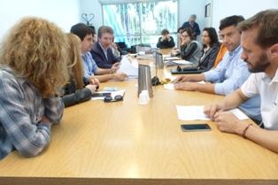 La comisión de Gobierno analizó diversos proyectos