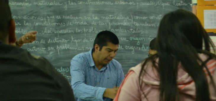 Actividad Concejal por un día Escuela N° 551 Convocada por el Concejal Electo Andres Gimenez