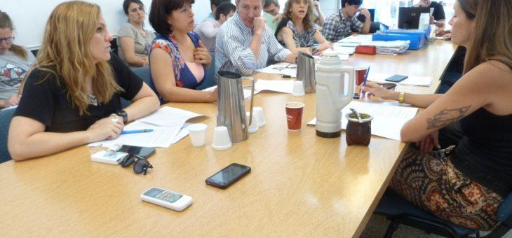 Los despachos de la comisión de Planeamiento