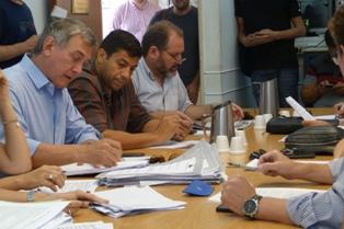 Se reunió la comisión de Gobierno