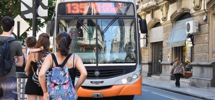 """Transporte: Irizar recordó """"la inequidad que sufre la ciudad"""" en el financiamiento"""