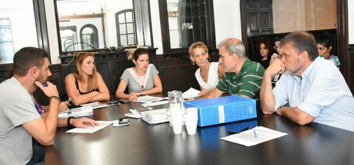 Reuniones de las comisiones de Presupuesto y Derechos Humanos