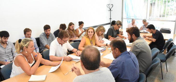 Se reunieron las comisiones de Planeamiento y de Seguridad