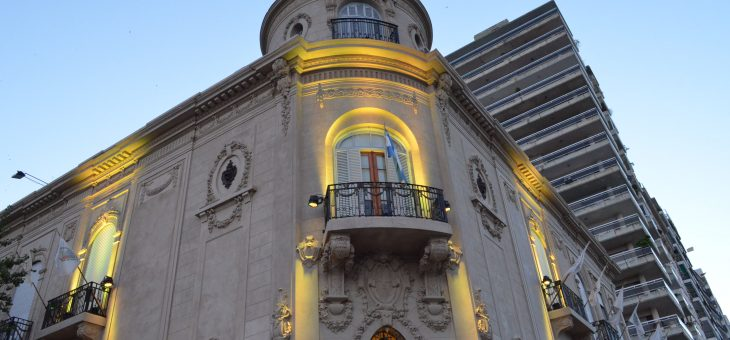 Se iluminó de dorado el Concejo Municipal