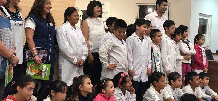 Actividad Alumnos al Concejo Escuela Nº 756 Jose M. Serrano convocada por los Concejales Andres Gimenez y Marina Magnani
