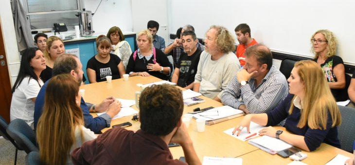 Vecinos de la Ciudad Universitaria en la comisión de Planeamiento