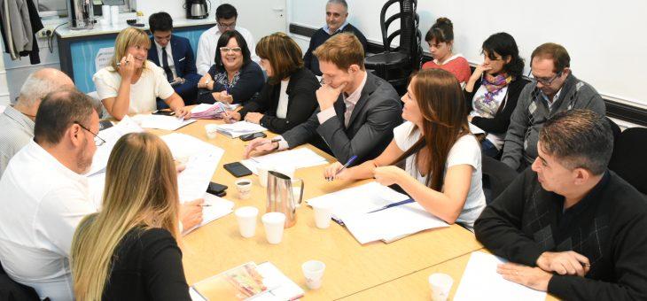 Se reunieron las comisiones de Obras Públicas y de Cultura