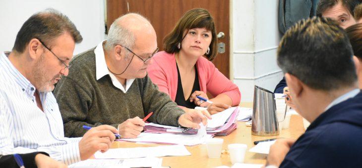 Proyectos de colocación de señalética aprobó la comisión de Obras Públicas