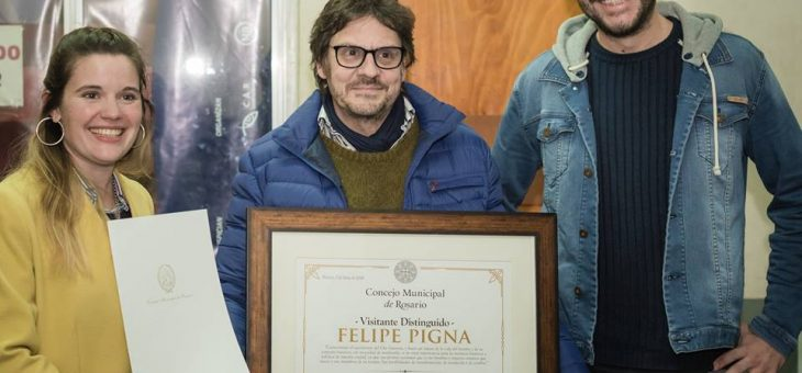 Declararon Visitante Distinguido a Felipe Pigna