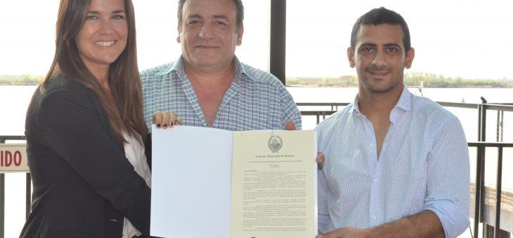Se declaró Institución Distinguida al Club Bajada España