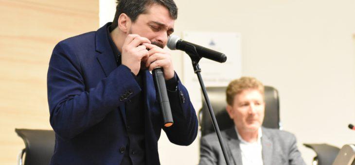 Franco Luciani fue reconocido como Músico Distinguido