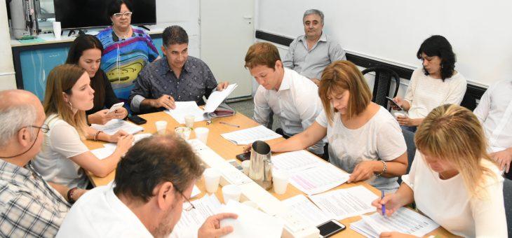 La comisión de Obras Públicas dio despachos para la concreción de numerosos trabajos