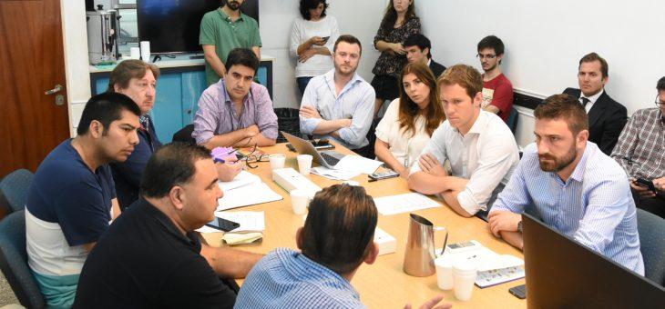 Visitas en la comisión de Producción y Promoción del Empleo