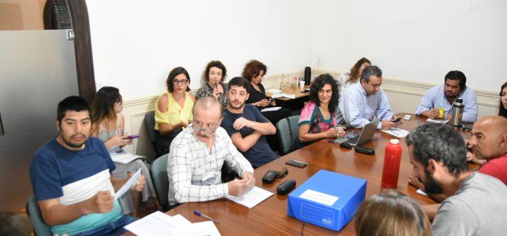 La reunión de la comisión de Cultura