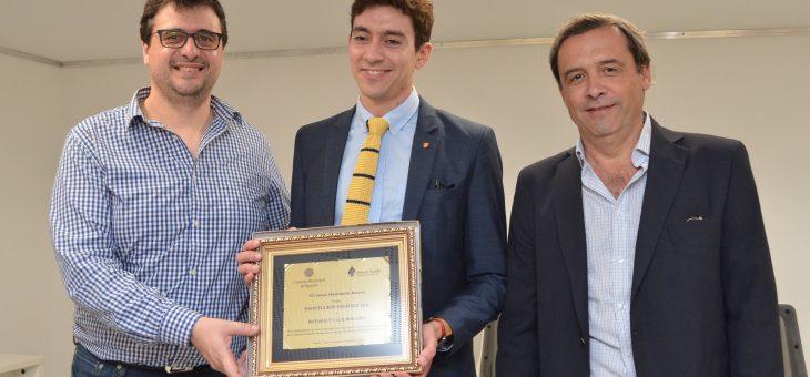 Declararon Institución Distinguida al Rotaract Club Rosario