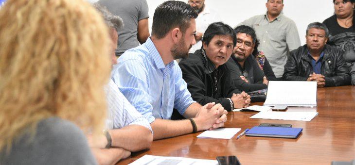 Reunión con integrantes de Pueblos Originarios