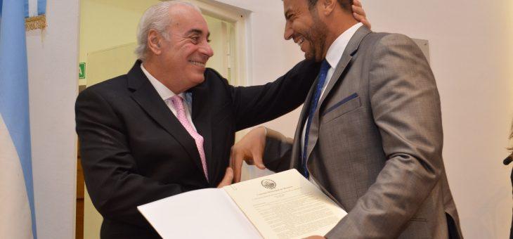 Rafael Díaz es Ciudadano Distinguido