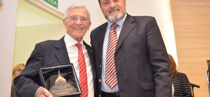 José Luis Ferretti, Cientítico Distinguido