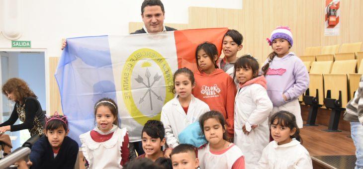 Recibió Rosselló a alumnos de la Escuela N° 6.430