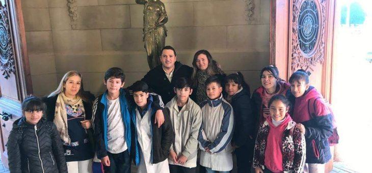 Visita de la Escuela «Santa Isabel de Hungría»