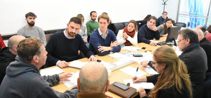 La comisión de Obras Públicos recibió a la Cámara de Volquetes