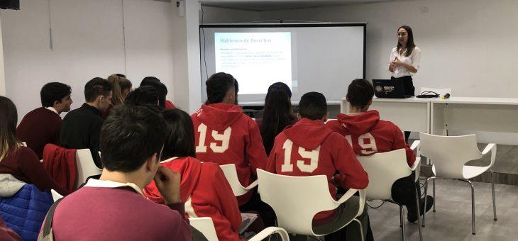 La Oficina del Consumidorbrindó a estudiantes de Pérez charla informativa