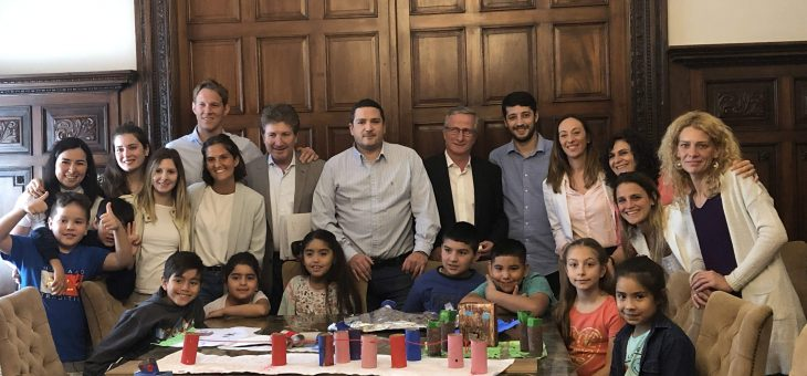 Integrantes de El Desafío asistieron a la reunión de Labor Parlamentaria