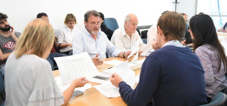 Se reunió la comisión de Obras Públicas