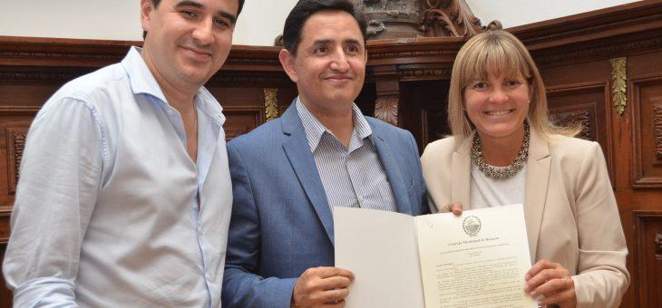 Declararon de interés municipal la página Rosario La Ciudad