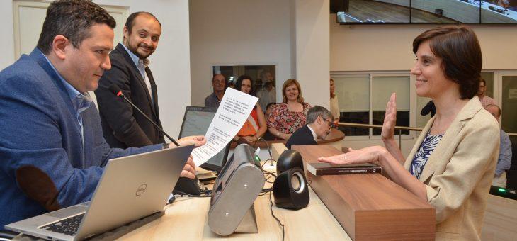 Se aceptó la renuncia de Javkin y juró Lorena Carbajal