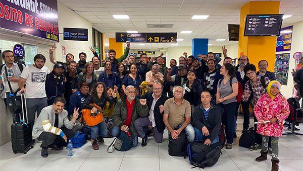 El concejal Monteverde viajó a Bolivia junto a organizaciones sociales