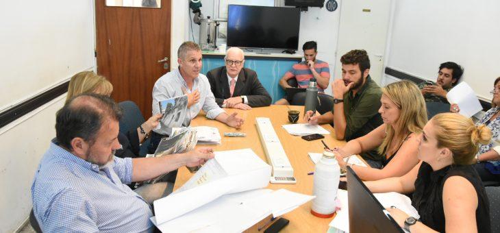 Se reunió la comisión de Planeamiento