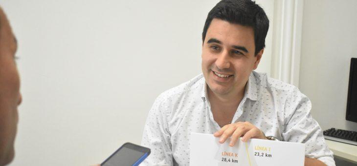 "Eduardo Toniolli presentó el ""Plan Maestro de trolebuses"""