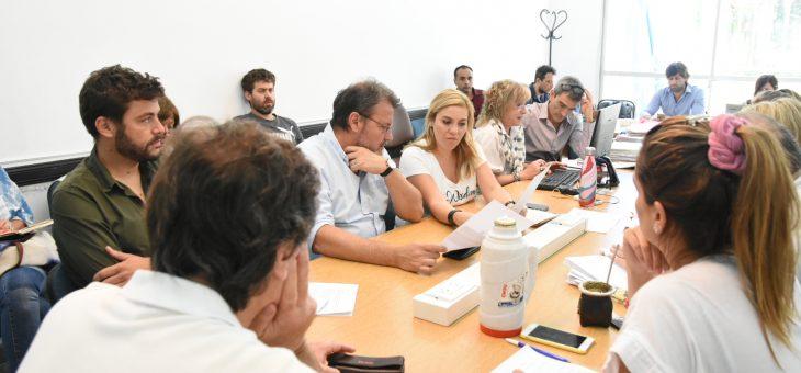 La reunión de la comisión de Planeamiento