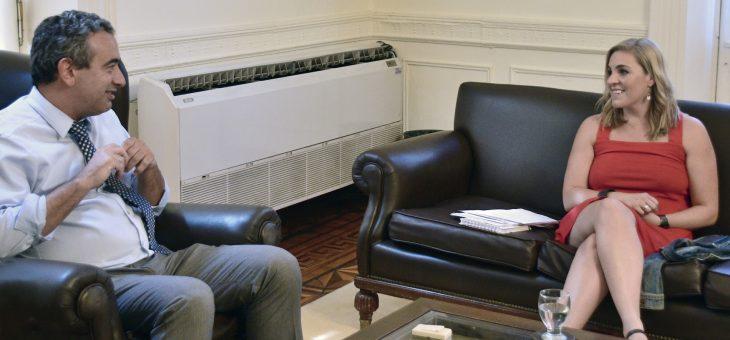 Gigliani se reunió con el intendente Pablo Javkin