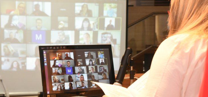 Tercera sesión virtual en el marco de la pandemia