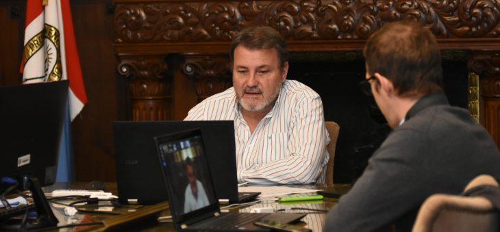 Obras Públicas realizó su reunión semanal