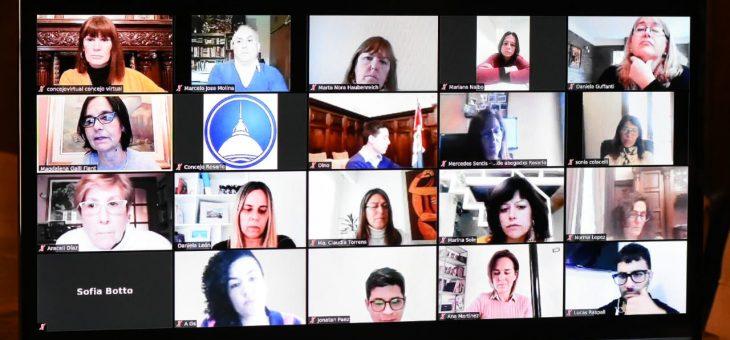 Debatieron en Derechos Humanos sobre adopción