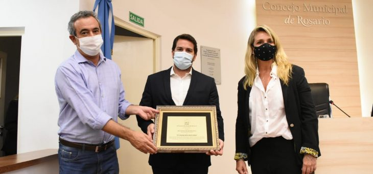 Declararon Organización Distinguida a la Fundación Rosario