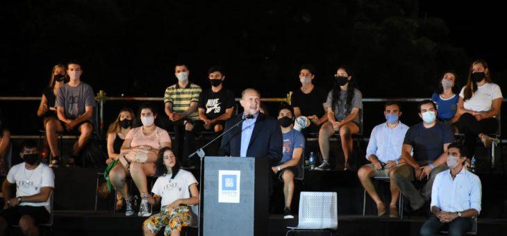 El Boleto Educativo Gratuito se presentó en Rosario