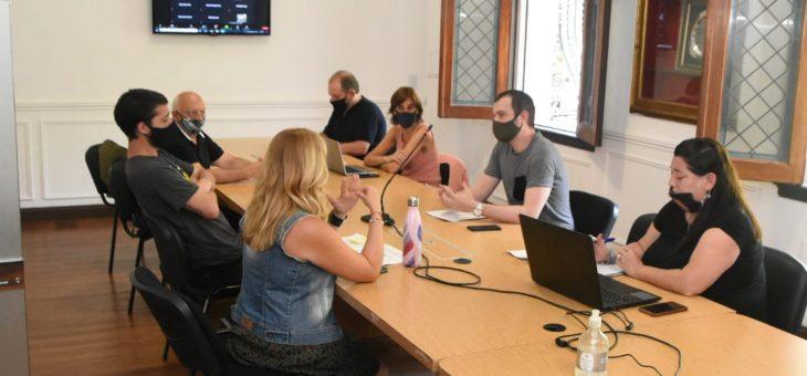 La reunión de la comisión de Control y Seguridad