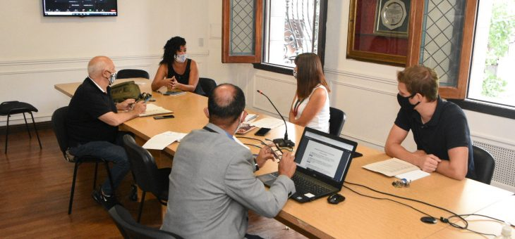 Se realizó la reunión de la comisión de Salud.
