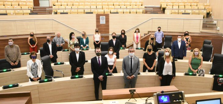 Javkin inauguró el período de sesiones ordinarias