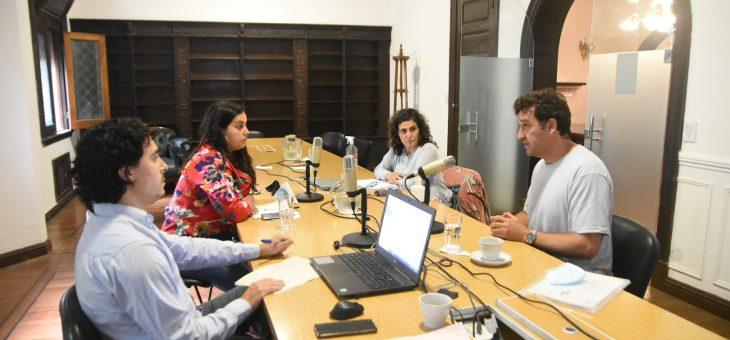 Audiencia con el director de Intervenciones Emergentes de la Municipalidad