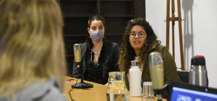 En Ecología recibieron a jóvenes ambientalistas que participarán de un encuentro global